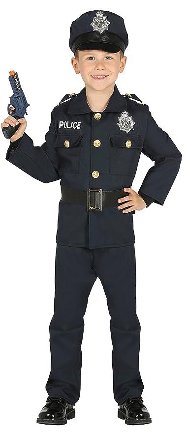 Guirca- Disfraz policía, Talla 10-12 años (87458.0)