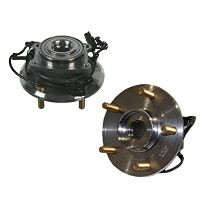 Detroit Axle - (2) REAR Wheel Bearing and Hub Assembly Set fits Driver and Passenger Side for 2009-2015 Dodge Journey - [2014 ProMaster 1500] - 2014-2015 ProMaster 2500/3500: Automotive
