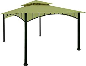 APEX GARDEN Replacement Canopy Top CAN ONLY FIT for Model #D-GZ136PST-N Summer Breeze Soft Top Gazebo (Canopy Top Only) (Oasis Green)