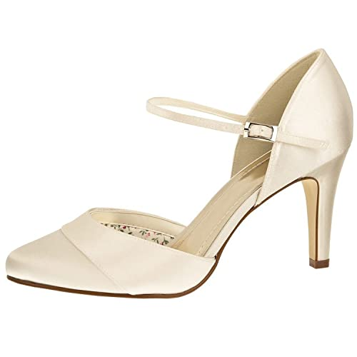 finest selection 9b55c 0b8f7 Elsa Coloured Shoes Brautschuhe Rainbow Club/Robin/Satin