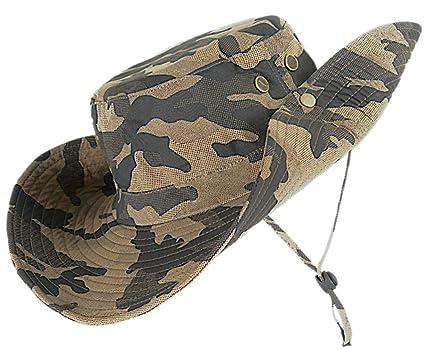 156fe636ad kolumb Unisex Military Boonie Hat- Premium Soft Cotton   Polyester Fabric