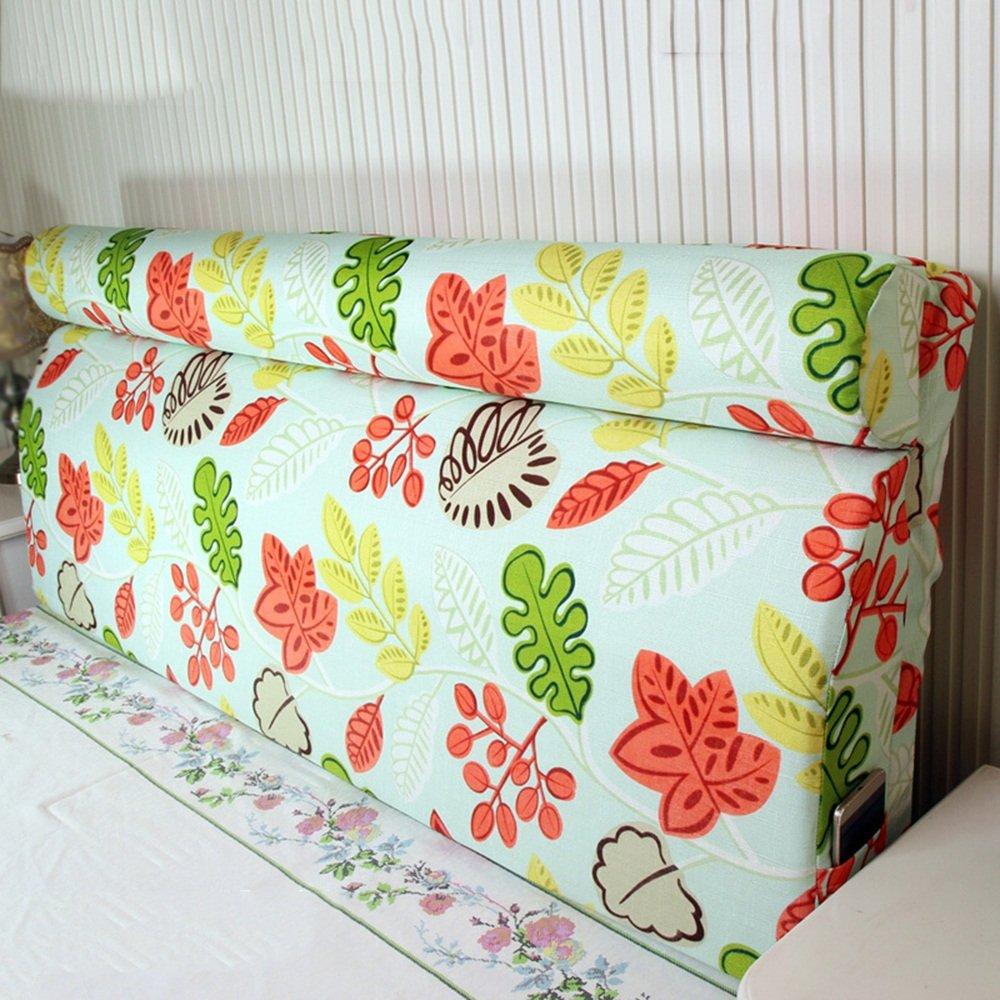 Removable washable bedside back pad / solid wood bed soft bag / bedside backpack ( Size : 18060cm )