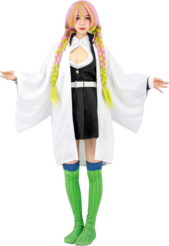 Amazon Com C Zofek Kanroji Mitsuri Cosplay Costume Womens Kimono Outfit Clothing Femalemitsuri kanroji from demon slayer by usatame (i.redd.it). c zofek kanroji mitsuri cosplay costume womens kimono outfit
