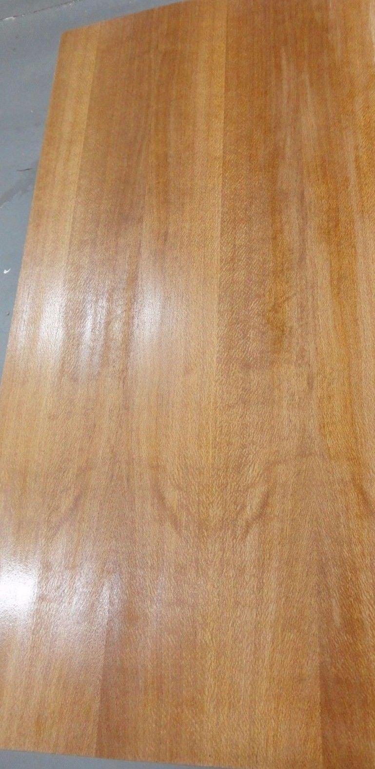 Australian Lacewood wood veneer on 3/4'' x 2' x 8' MDF panel with wood backer