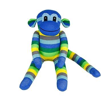 Amazon Com Infei Handmade Traditional Sock Monkey Stuffed Doll For