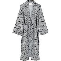 FANCY PUMPKIN Men's Yukata Robes Kimono Robe