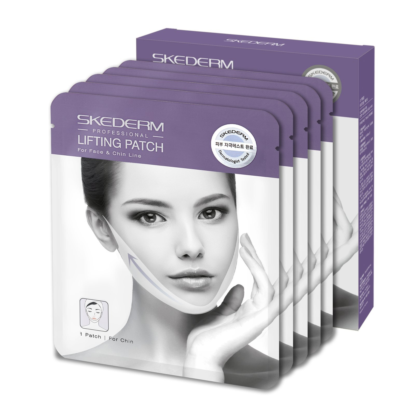 SKEDERM Lifting Patch for Chin Up & V Line. 5 Patches