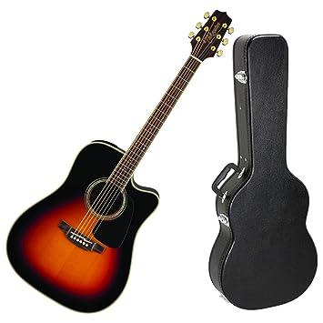 TAKAMINE gd51ce BSB acústica guitarra eléctrica w/diseño de madera ...