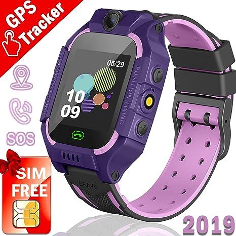 Amazon.com: Reloj con rastreador GPS para niños, edición de ...