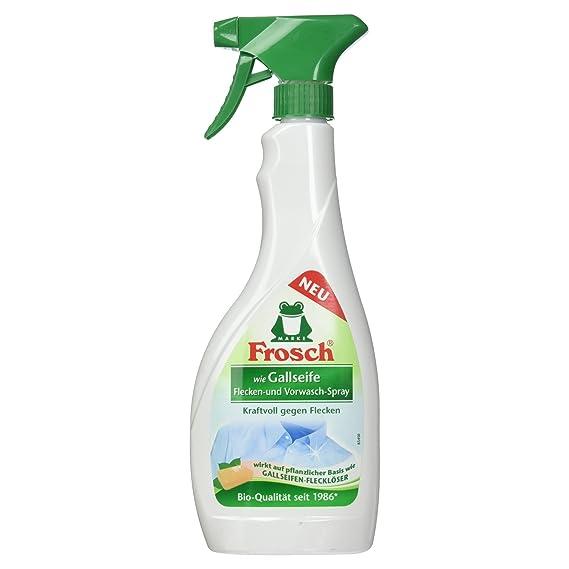 Frosch - Compartimento interior como considerara jabón las manchas - & prelavado-spray