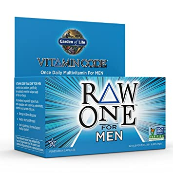 Amazoncom Garden of Life Multivitamin for Men Vitamin Code Raw