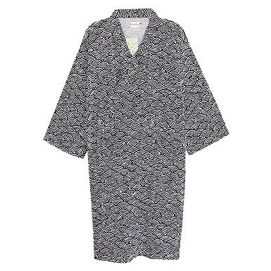 dd469f35f5 Women Men Sleepwear Cotton Robes Kimono Pajama Large Night Gown Loose  Lounger