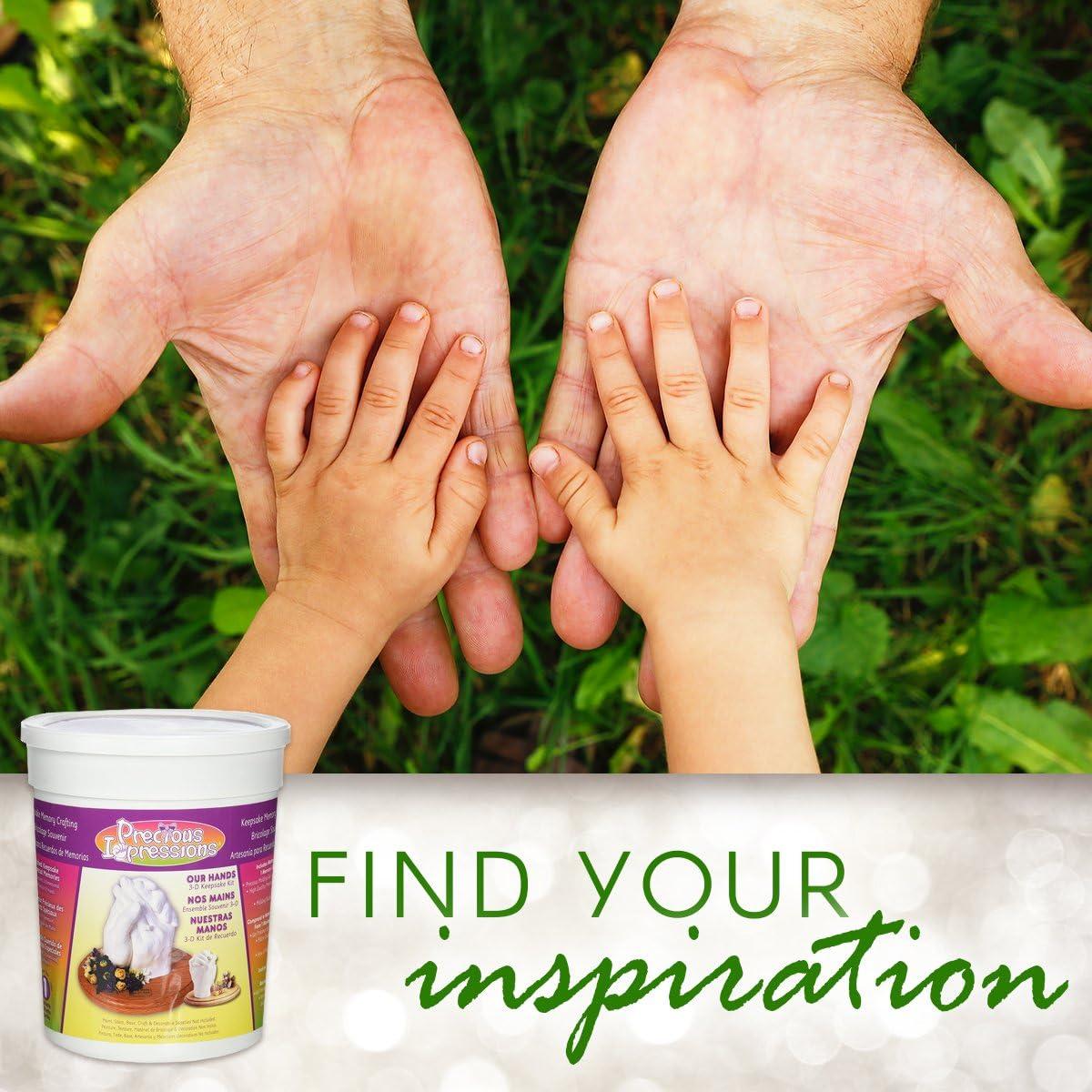 DIY Family Hand Mold Kit Precious Impressions Memory Hands Keepsake Casting Set