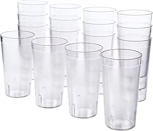 US Acrylic Cafe 20-Ounce Restaurant-Style Beverage Tumblers