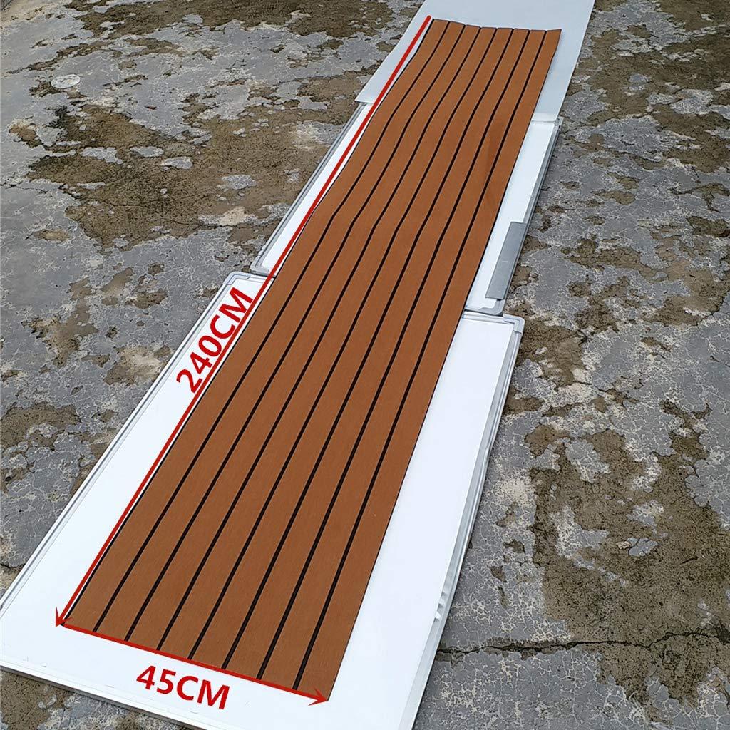 IPOTCH Estera Antideslizante de Espuma Sint/ética EVA para Deportes Acu/áticos Kayak Tablas de Surf Accesorios Gris Claro