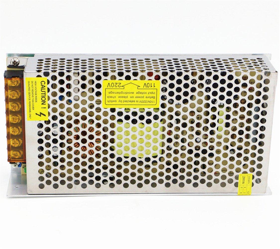 5V 30A 150W Power Supply Transformer Adapter AC 110V/220V to DC 5V 30amp Converter Or CCTV Camera/Security System/LED Strip Light/Radio/Computer Project by Baiyouli (Image #6)