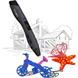 【Surprise】TOQIBO 3D Drawing Printing Doodler Pen for Kids,3D Doodling Printer Pencil Pen With OLED Display,1.75mm PLA/ABS/PCL Filament Supported, Christmas Gifts and Toys for Boys & Girls