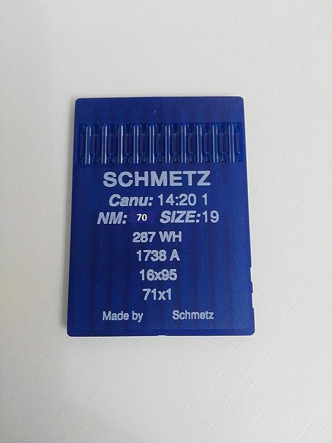 mimaquina.es Agujas Schmetz 1738 industriales DBx1 Redondas ...