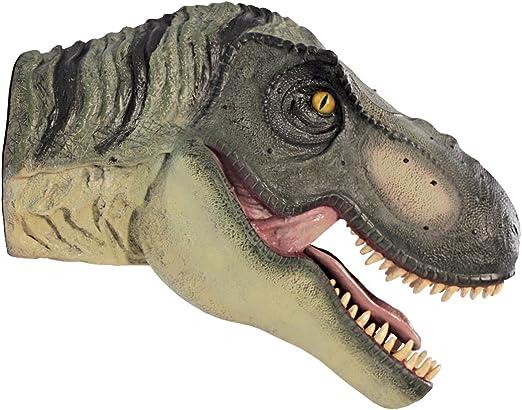 Design Toscano Scaled Tyrannosaurus Rex Dinosaur Wall Trophy Sculpture