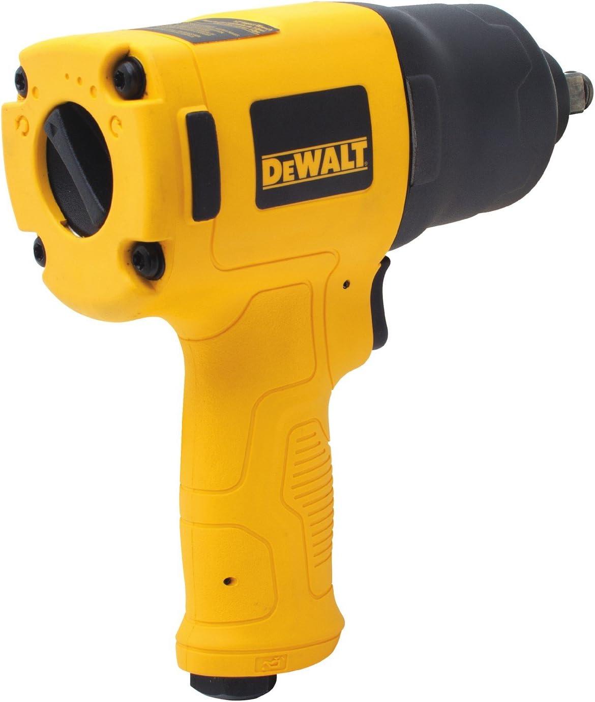 Black DEWALT DWMT70774 1//2-Inch Drive Impact Wrench,Yellow