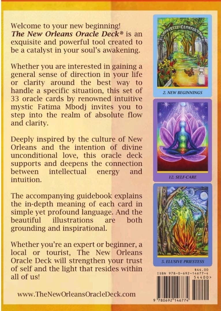 FMI The New Orleans Oracle Deck by FMI (Image #2)