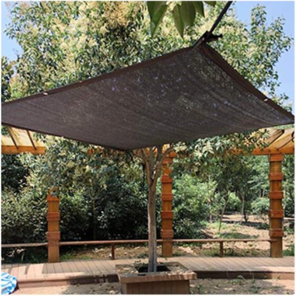 YOUDAN Jardín Velas de Sombra, a Prueba de Viento Tasa de Sombreado 75% Durable Piscina Patio Zona de Barbacoa Rectángulo Plaza de Aparcamiento Hebilla de Borde Sun Screen Shelter,4X5m: Amazon.es: Hogar