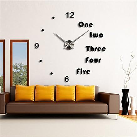Relojes salon modernos reloj de pared great d moderno - Relojes salon modernos ...