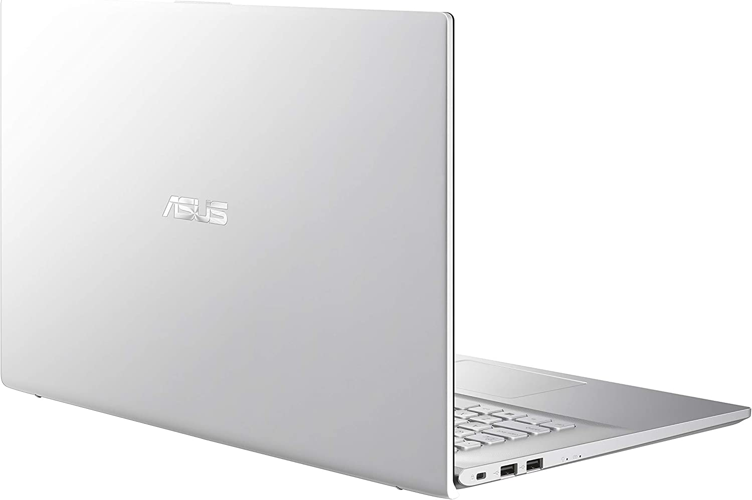 "ASUS VivoBook 17 S712 Thin and Light Laptop, 17.3"" FHD Display, AMD Ryzen 3 3250U CPU, 8GB RAM, 128GB SSD + 1TB HDD, Windows 10 Home, Transparent Silver, S712DA-DB36"