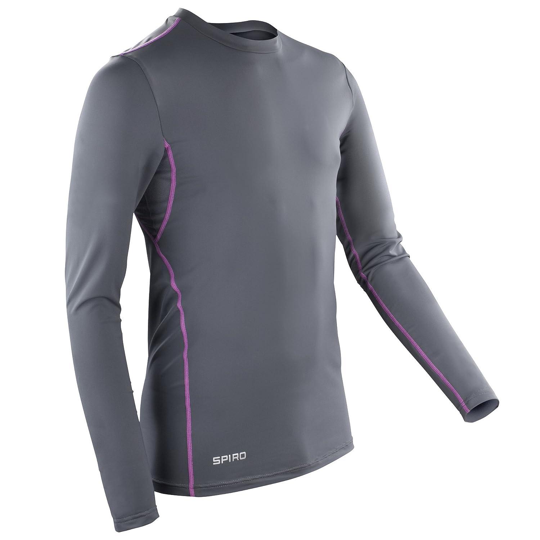 Spiro Herren Base Layer Sport Longsleeve/Unterhemd, Langarm