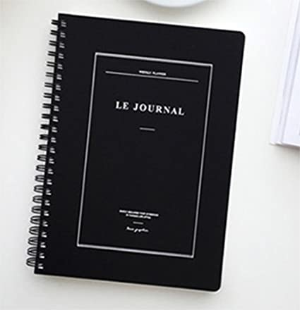 Amazon.com : PONML Le Journal Undated Diary Planner ...