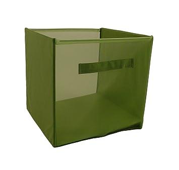 Kid Style Storage Cube, Soft Green, 12 X 12 X 12u0026quot;