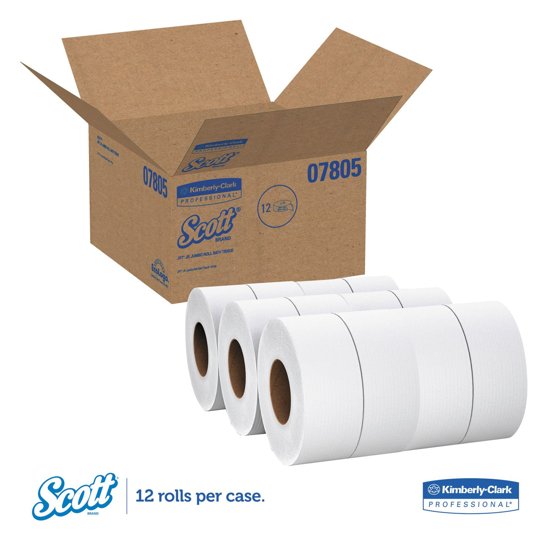 KCC07805 Tradition JRT Jumbo Roll Bathroom Tissue, 2-Ply, 8 9/10quot; Dia, 1000ft