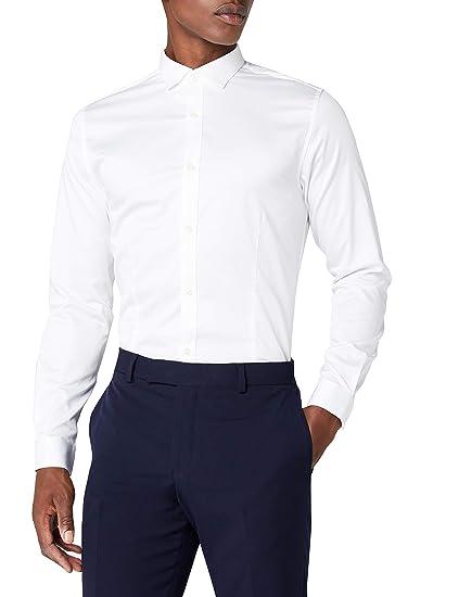 Jack   Jones 12097662 - Chemise habillée - Taille normale - Manches longues  - Homme  Amazon.fr  Vêtements et accessoires 35182be03a7