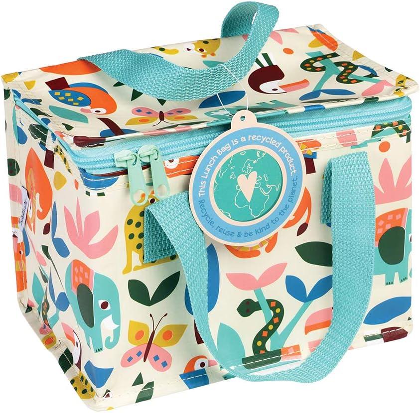 verschiedene Designs Wild Wonders Isolierte Lunchtasche f/ür Kinder