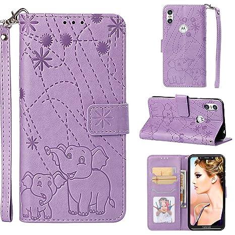 YKTO Vegan Leder Wallet Case Motorola One (P30 Play) 5.9