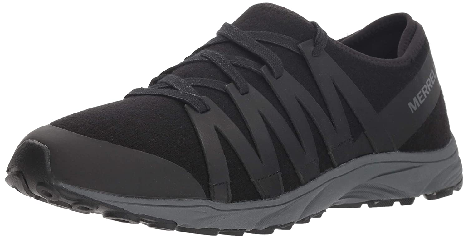 Merrell Women's Riveter Wool Sneaker B079DGCXD4 10 M US|Black