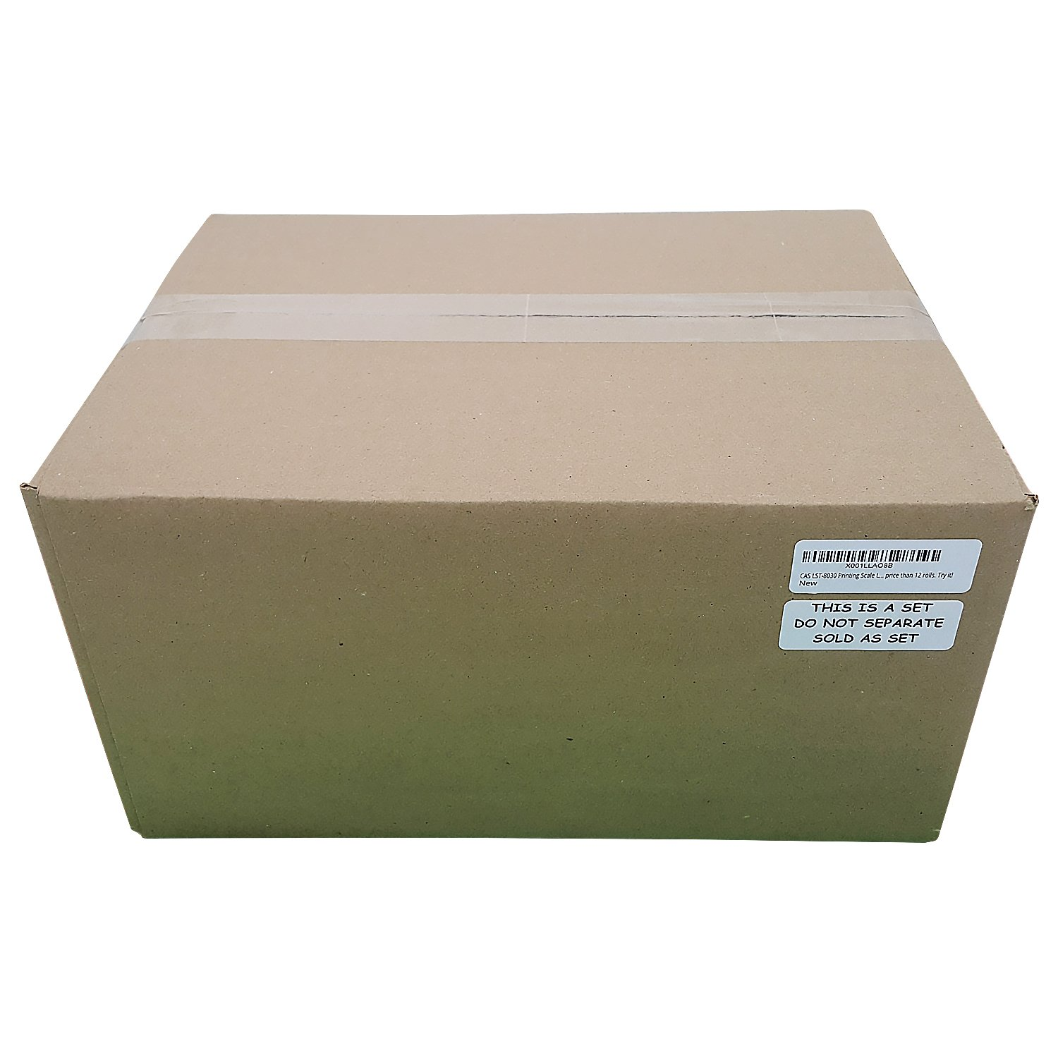 CAS LST-8010 Printing Scale Label, 58 x 40 mm, UPC ''36 ROLLS'' Per Case. Lower price than 12 rolls. Try it.
