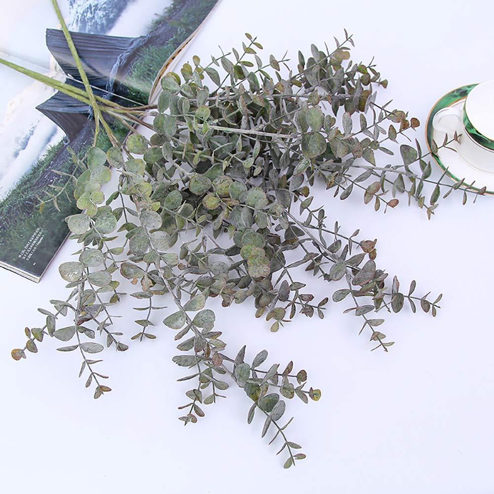 Lsgepavilion 1pi/èce Plante Artificielle Feuille deucalyptus Branches de 3/D/écoration dint/érieur D/écoration de f/ête de Mariage