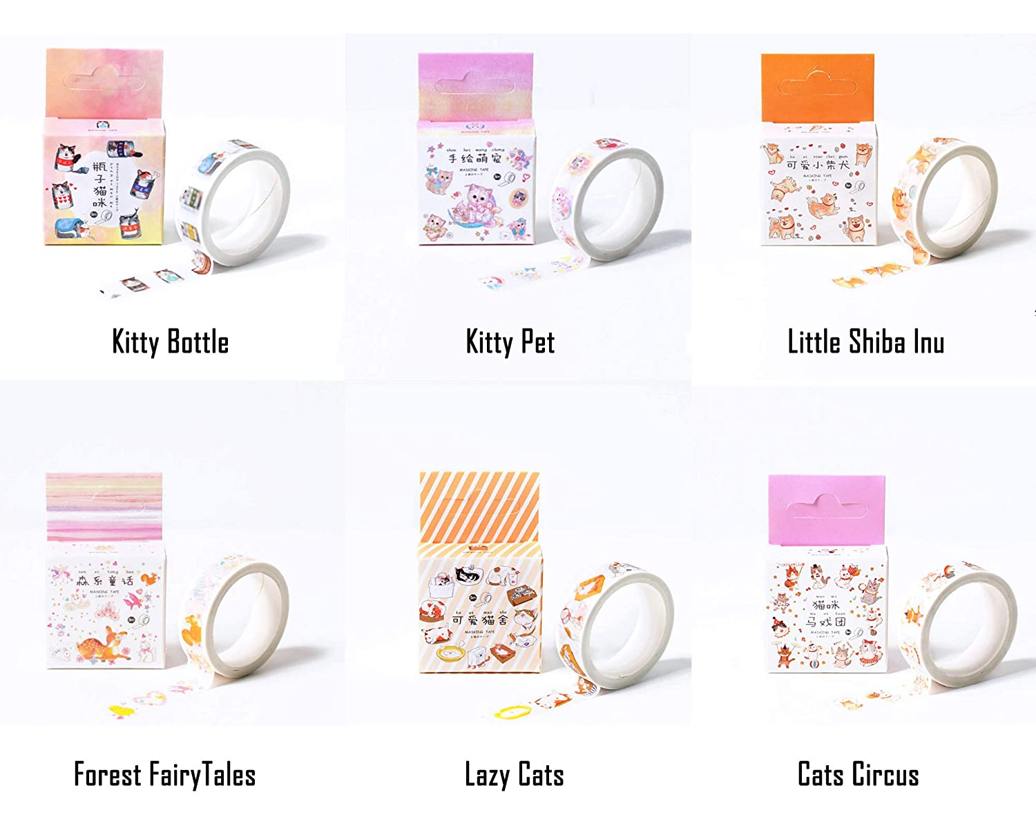 Kawaii Japanese 15mm cute penguin washi tape for Bullet Journal /& planners Cute Korean stationery