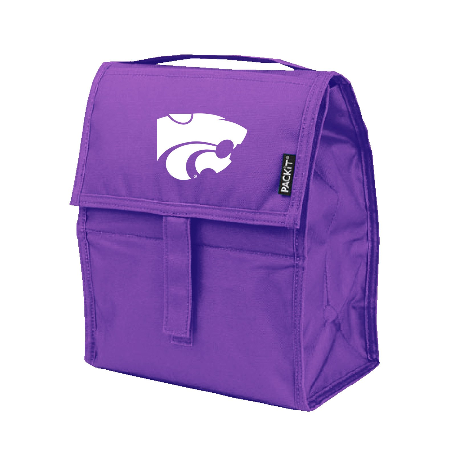 NCAA Kansas State Wildcats Packit Freezable Lunch Bag, Purple