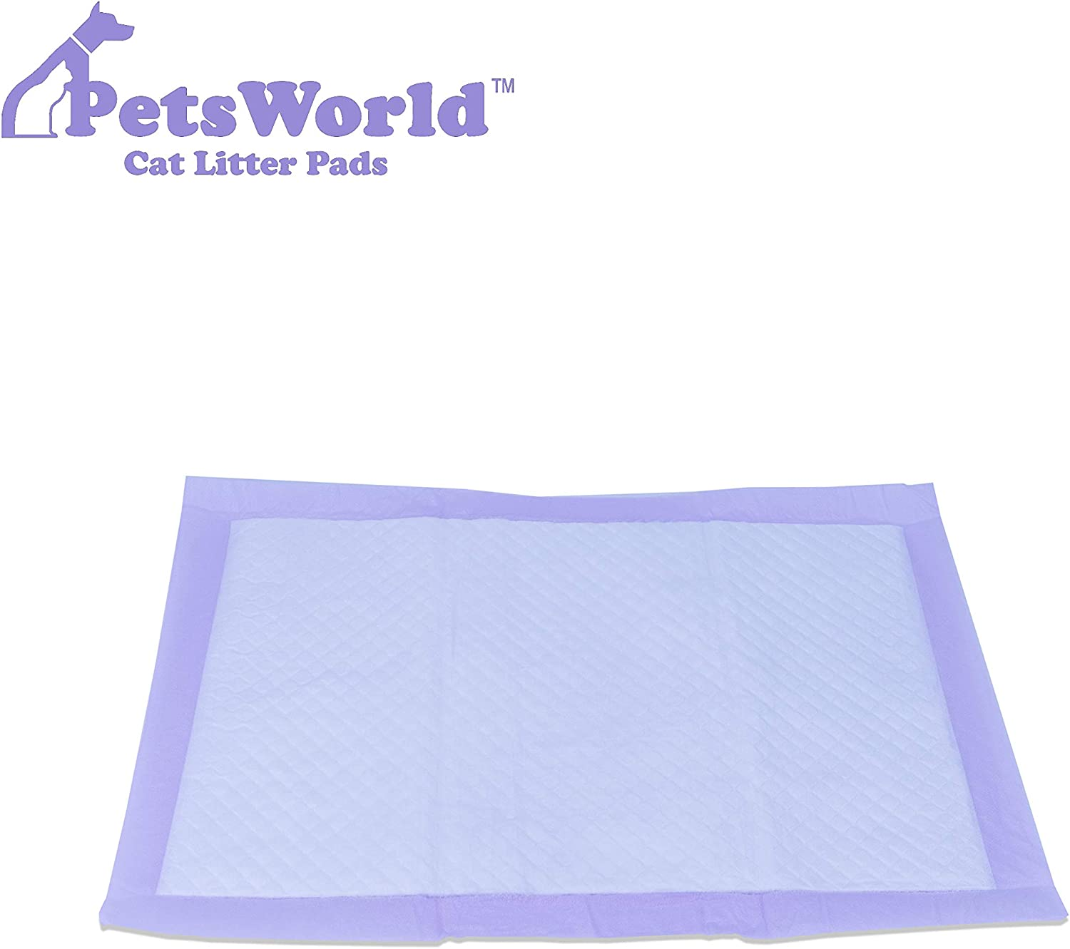 PETSWORLD Cat Pad Refills for Tidy Cats Breeze Litter System for Cat Litter Box Totally Redesigned