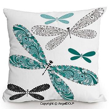 Amazon.com: AngelDOU - Cojín de algodón para sofá, diseño ...