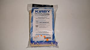 Kirby Generation 4 Upright Vacuum Cleaner Micron Magic Bags 9 Pk Part # 197394A