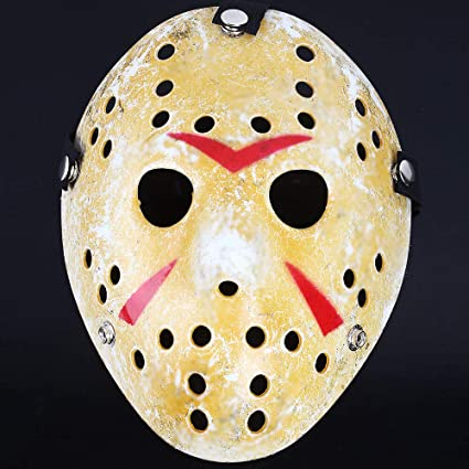 Halloween Costume Jason Friday 13th.Unbranded Friday The 13th Hockey Mask Jason Vs Freddy Halloween Costume Mask
