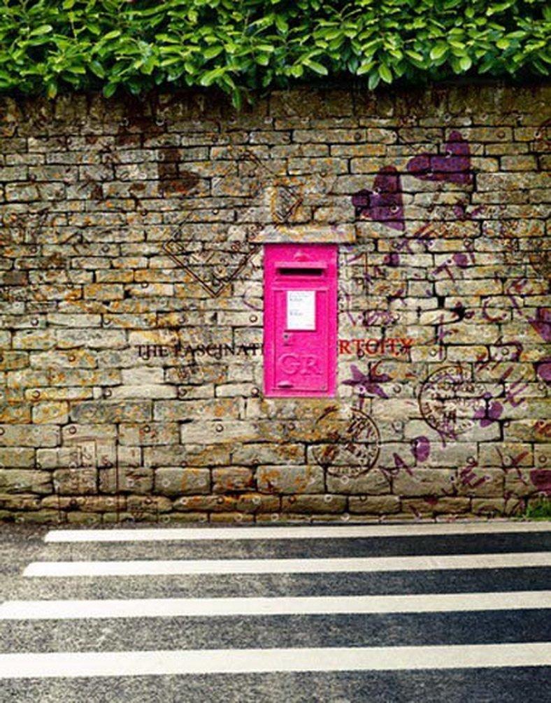 Vintage Brick Wall Graffiti写真Backdrops写真小道具Studio背景5 x 7ft   B01GDTLR9Y