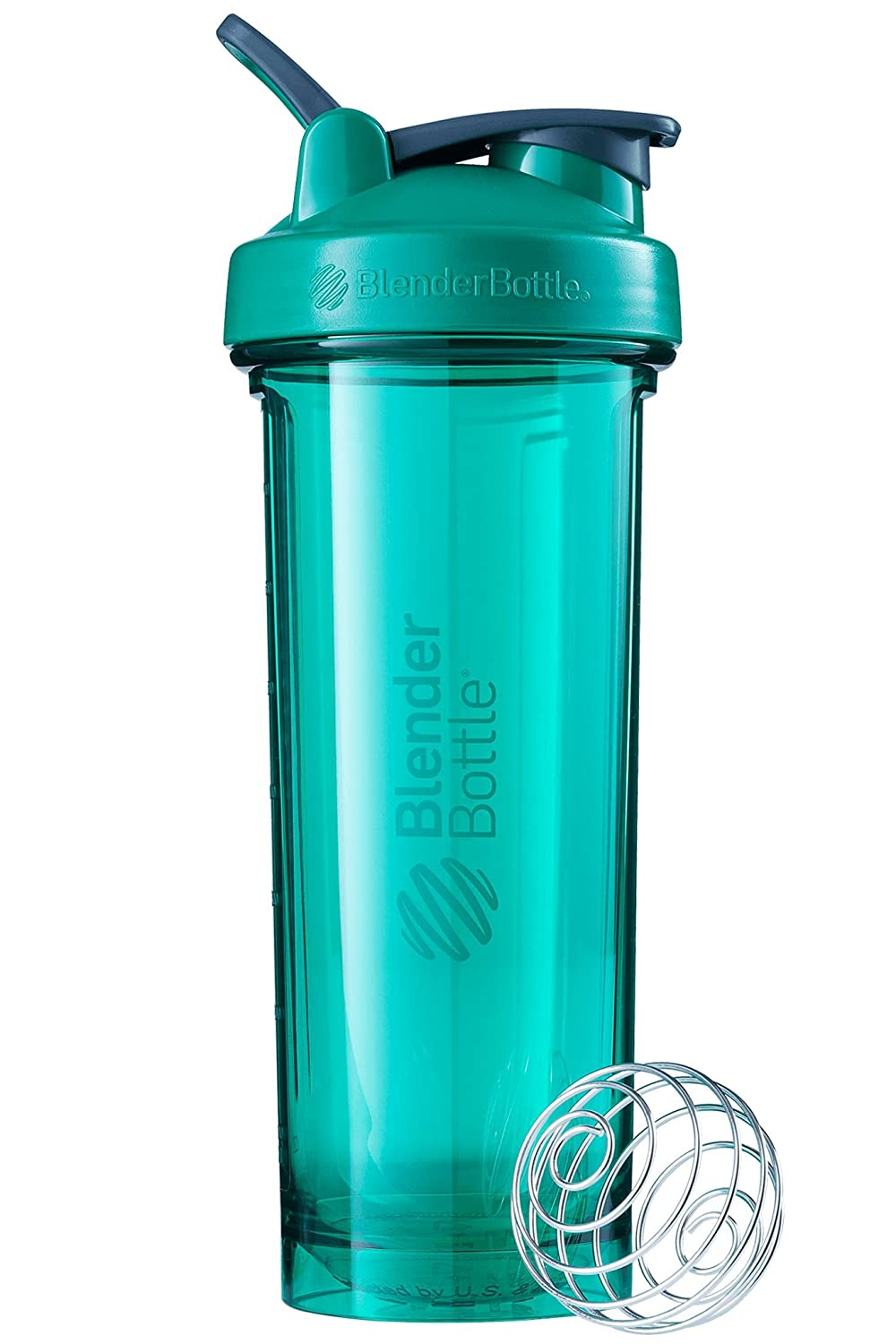 BlenderBottle Pro Series Shaker Bottle, 32-Ounce, Emerald Green