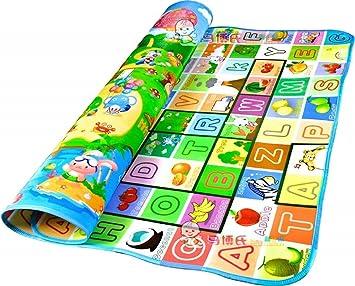Isel Waterproof Kids Mind Developing Mat Kids Beach Picnic Carpet Rug Baby Crawling Mat - 120 x 180 cm