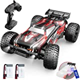 DEERC 9206E Remote Control Car 1:10 Scale Large RC Cars 48+ kmh High Speed for Adults Boys Kid,Extra Shell 4WD 2.4GHz Off Roa
