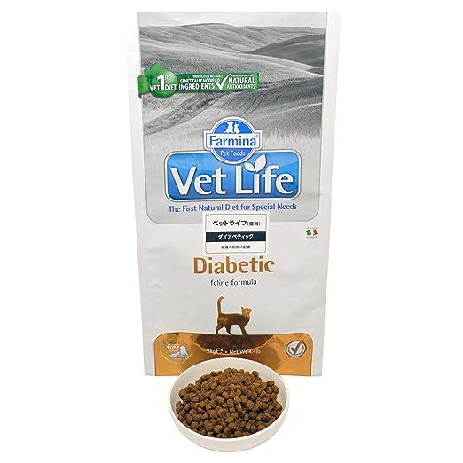 Vet Life diabetic Cat, 1er Pack (1 x 2 kg): Amazon.es: Productos para mascotas