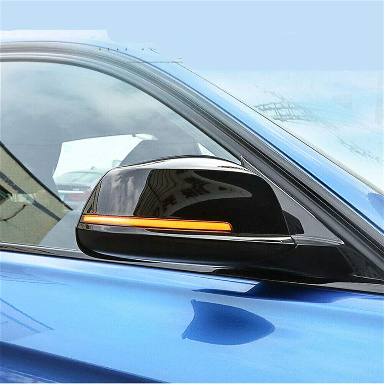 HDX R/étroviseur Clignotant Dynamique LED Clignotant pour BMW X1 X3 X4 X5 X6 X7 1 2 3 4 5 6 7 Series i3 125 325 335 530 540 740 760